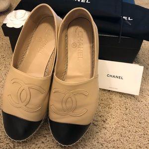 Authentic Chanel Espadrilles size 36